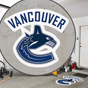 Vancouver Canucks Street Grip Outdoor Graphic