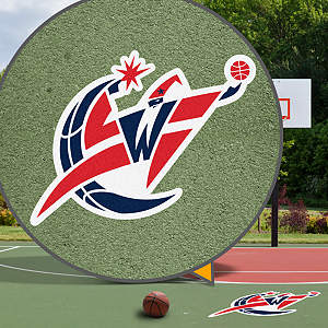 Washington Wizards Street Grip Outdoor Graphic