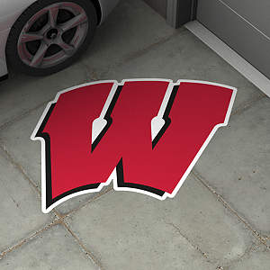 Wisconsin Badgers Street Grip Outdoor Graphic