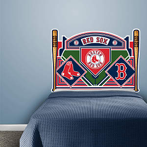 Boston Red Sox Headboard - Full Bed Fathead Wall Decal