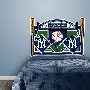 New York Yankees Headboard - Full Bed Fathead Wall Decal