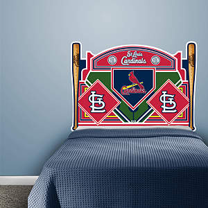 St. Louis Cardinals Headboard - Full Bed Fathead Wall Decal