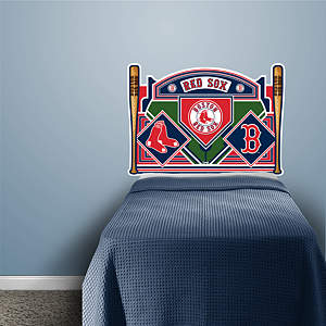 Boston Red Sox Headboard - Twin Bed Fathead Wall Decal