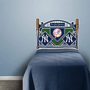 New York Yankees Headboard - Twin Bed Fathead Wall Decal