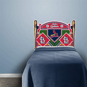 St. Louis Cardinals Headboard - Twin Bed Fathead Wall Decal