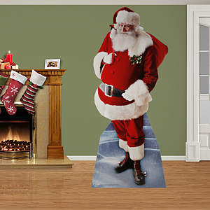 Santa Claus Stand Out
