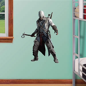 Connor Battle Ready: Assassin's Creed III - Fathead Jr. Fathead Wall Decal