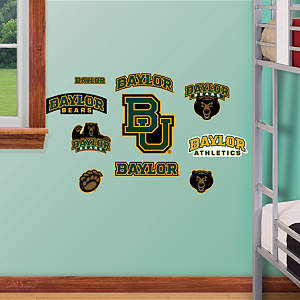 Baylor Bears - Team Logo Assortment Fathead Wall Decal
