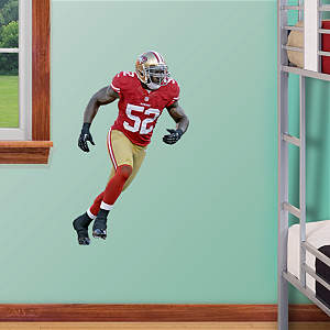 Patrick Willis - Fathead Jr. Fathead Wall Decal