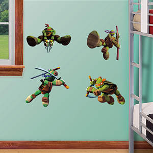 TMNT Fathead Vinyl Wall Decal Collection
