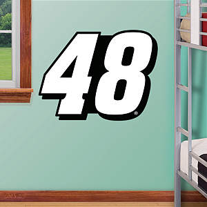 Jimmie Johnson #48 Logo - Fathead Jr. Fathead Wall Decal