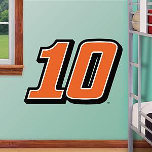 Danica Patrick #10 Logo - Fathead Jr. Fathead Wall Decal
