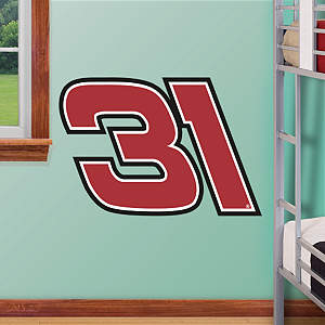 Ryan Newman #31 Quicken Loans Logo - Fathead Jr Fathead Wall Decal