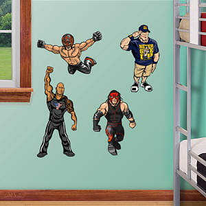 WWE Kids Collection - Fathead Jr Fathead Wall Decal