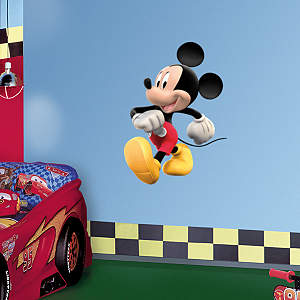 Small Mickey Mouse Fathead Vinyl Wall Decal Collection