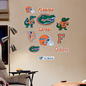 Florida Gators - Team Logo Assortment Fathead Wall Decal
