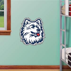 UConn Huskies Logo - Fathead Jr. Fathead Wall Decal