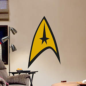 Star Trek: The Original Series Insignia - Fathead Junior Fathead Wall Decal