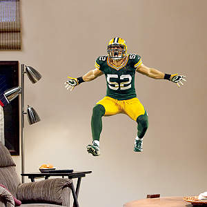 Clay Matthews Sack Celebration - Fathead Jr. Fathead Wall Decal