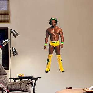 Kofi Kingston - Fathead Jr. Fathead Wall Decal