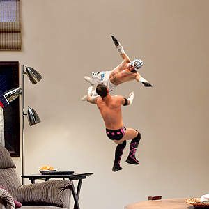 Rey Mysterio Aerial - Junior Fathead Wall Decal