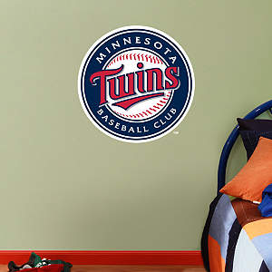Fathead Jr. - Minnesota Twins Logo Fathead Wall Decal