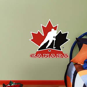 Fathead Jr. - Team Canada Logo Fathead Wall Decal