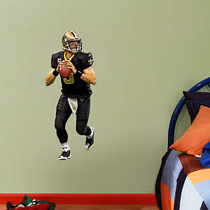 Drew Brees - Fathead Jr. Fathead Wall Decal