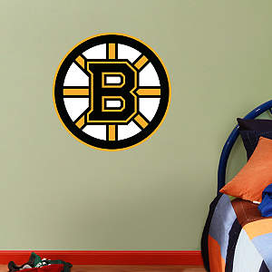 Fathead Jr. - Boston Bruins Logo Fathead Wall Decal