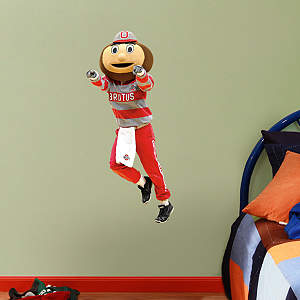 Ohio State Mascot: Brutus Buckeye - Fathead Jr. Fathead Wall Decal
