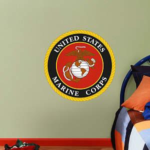 USMC Seal - Fathead Jr. Fathead Wall Decal