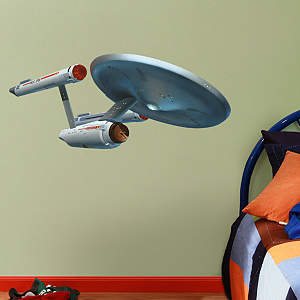 U.S.S. Enterprise NCC-1701 - Fathead Jr. Fathead Wall Decal