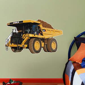 Cat Mining Truck - Fathead Jr. Fathead Wall Decal
