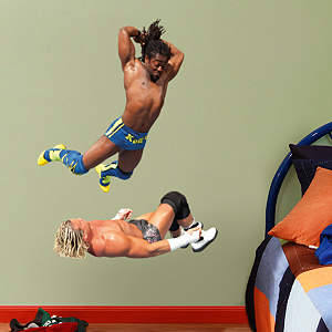 Kofi Kingston Splash - Junior Fathead Wall Decal