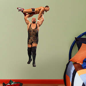 Big Show Press Slam - Junior Fathead Wall Decal