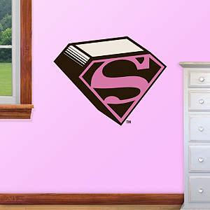 Supergirl Logo - Fathead Jr Fathead Wall Decal