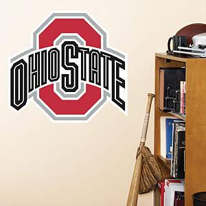 Ohio State Buckeyes Logo - Fathead Jr. Fathead Wall Decal