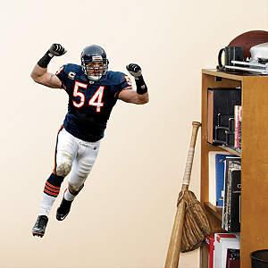 Brian Urlacher Linebacker - Fathead Jr. Fathead Wall Decal
