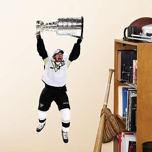 Sidney Crosby - Stanley Cup - Fathead Jr. Fathead Wall Decal