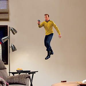 Captain James T. Kirk - Fathead Jr. Fathead Wall Decal