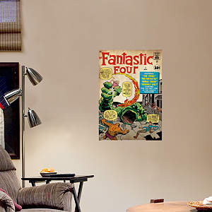 The Fantastic Four Cover Fathead Wall Decal