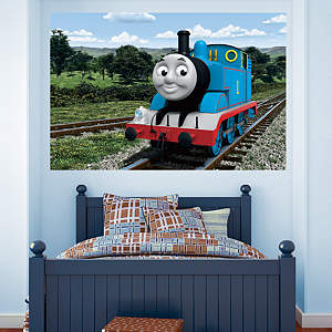 Thomas the Tank Engine: Countryside Mural Fathead Wall Decal