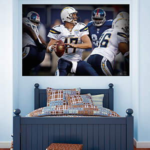 Philip Rivers In Your Face Mural Fathead Wall Decal