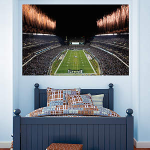Inside Lincoln Financial Field Mural Fathead Wall Decal