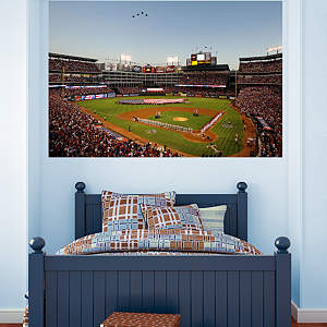 Rangers Ballpark in Arlington Flyover Mural Fathead Wall Decal