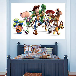 Toy Story Mural Fathead Wall Decal