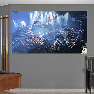 Gears of War 3: Underground Mural Fathead Wall Decal