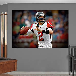 Matt Ryan In Your Face Mural Fathead Wall Decal