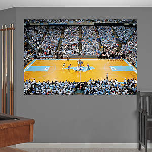 North Carolina Basketball Mural - Dean E. Smith Center Fathead Wall Decal
