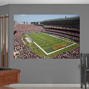 Inside Soldier Field Mural Fathead Wall Decal
